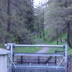 Innradweg hinter St. Moritz