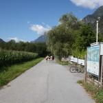Inntal Radweg bei Imst